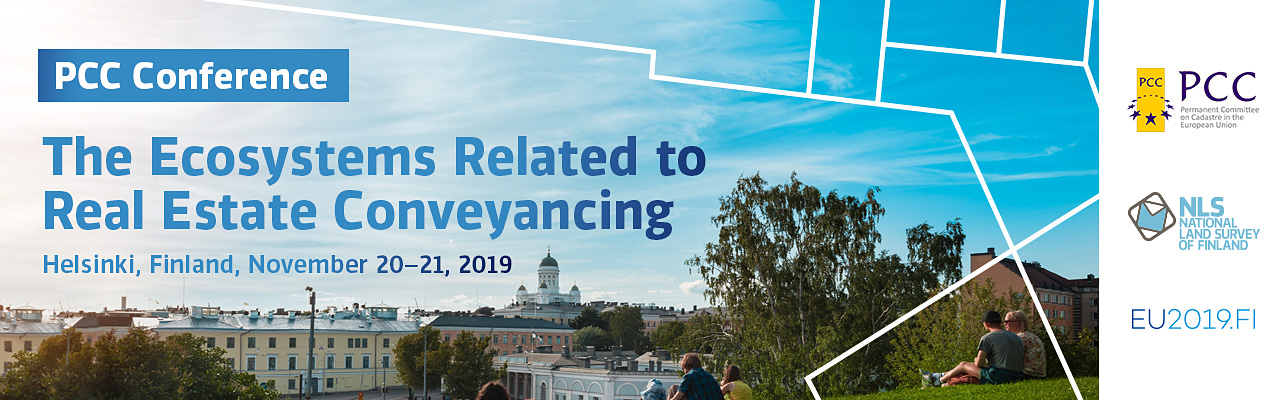 "Image of the PCC Conference and Plenary Meeting. ""The Ecosystems Related to Real Estate Conveyancing"". November 20-21 2019 - Helsinki, Finland"
